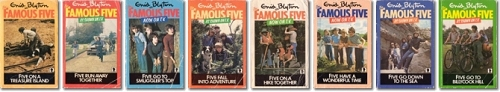 Old Famous Five Books from 1980